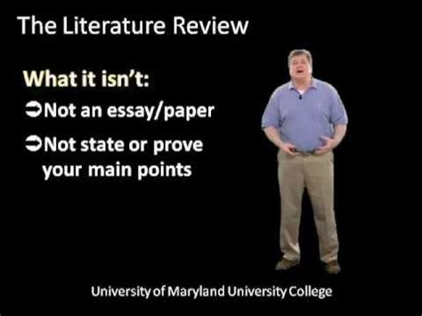 Literature Review Writing Service - Overview